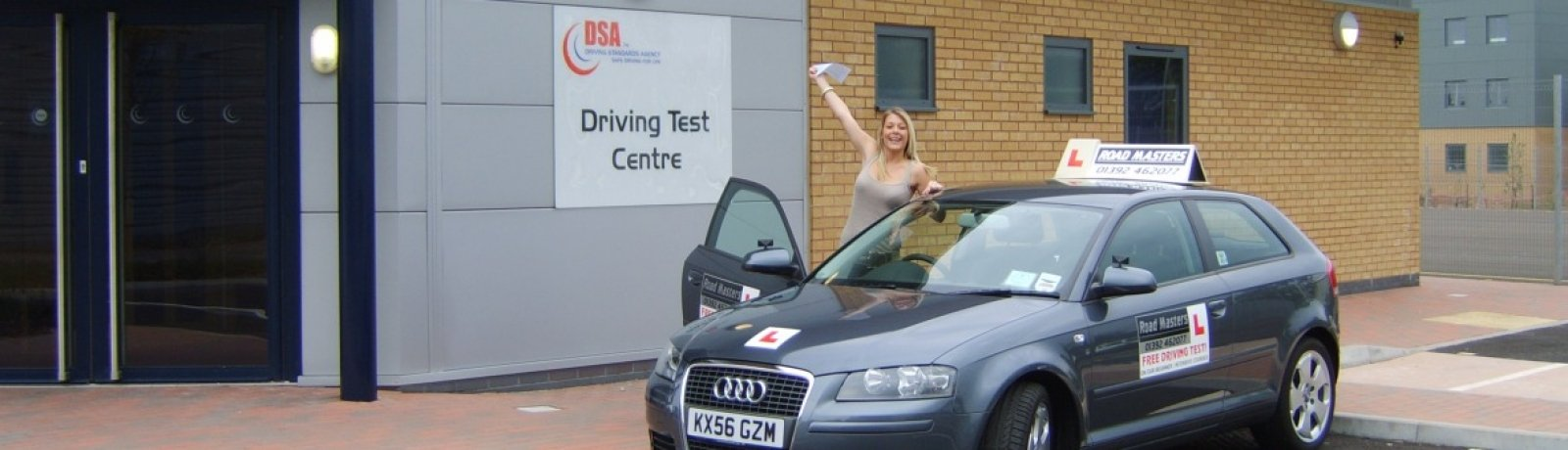 Driving lessons Exeter from £26 /hr*