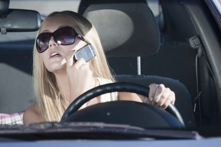 distracted driving mobile