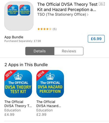 DVSA Theory Test apps