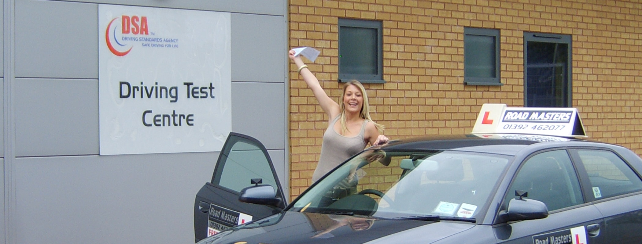 Driving lessons Exmouth from £28.50 /hr*