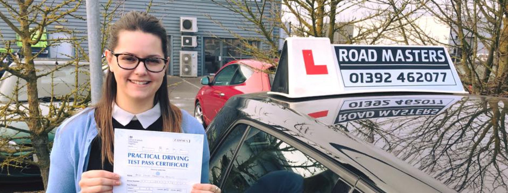Driving lessons Exeter from £28.50 /hr*