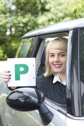Driver passed their driving test.