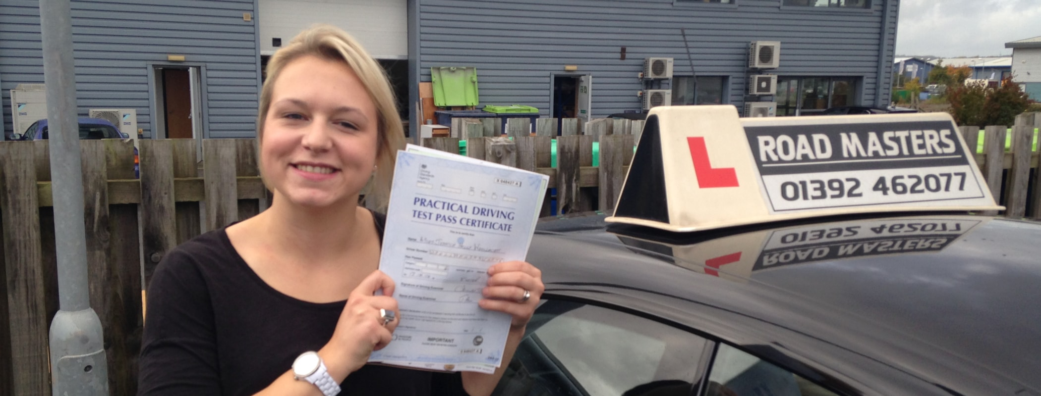 Driving lessons Devon from less than £33/hr*