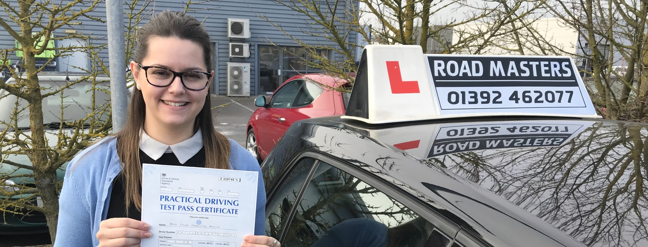 Driving lessons Newton Abbot from £27 /hr*