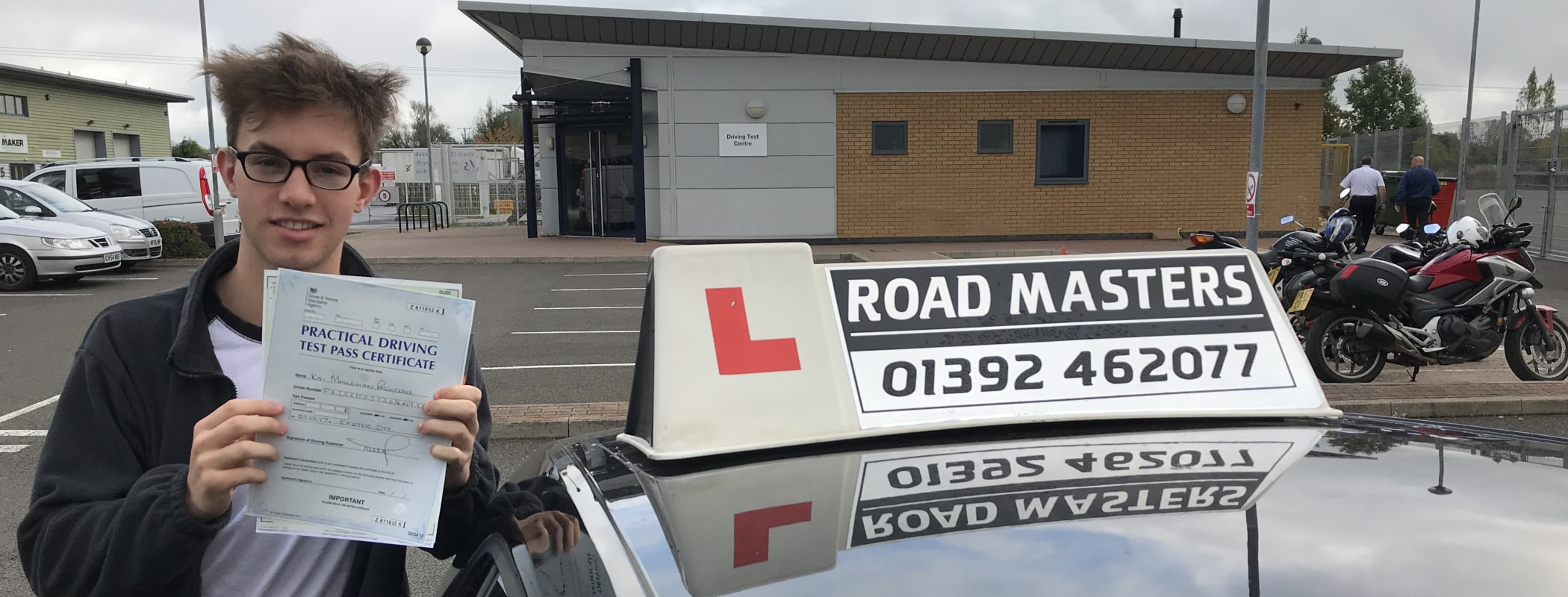 Driving lessons Exeter from less than £33/hr*