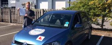 Jamie Lewis passed driving test