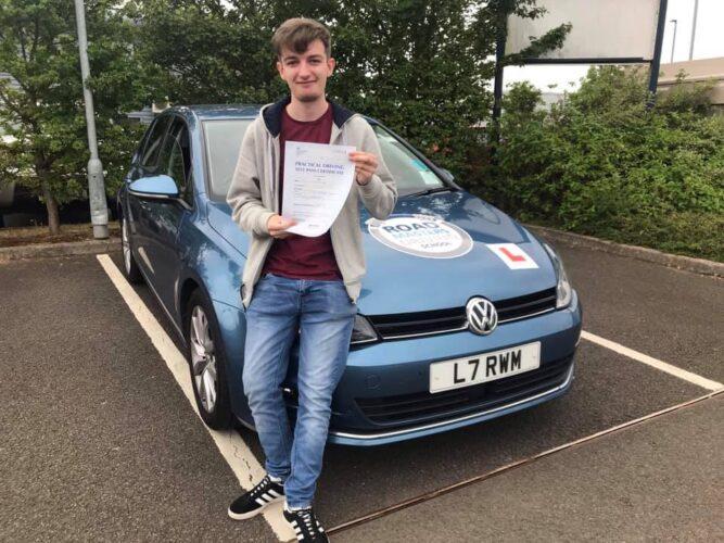 Matt Heywood who passed in Exeter on 18 June 21